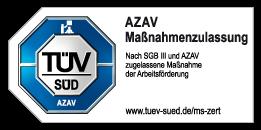 AZAV Maßnahmenzulassung TÜV