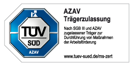 AZAV Trägerzulassung TÜV