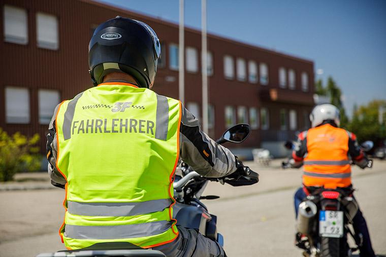 Motorrad-Führerschein in Straubing mit der Bike to Bike Methode